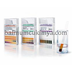 Merck 109532.0001 | pH-indicator strips (100 strips) pH 7.5-14 non-bleeding pH 7.5-8.0-8.5-9.0-9.5-10.0-10.5-11.0-11.5-12.0-12.5-13.0-13.5-14.0